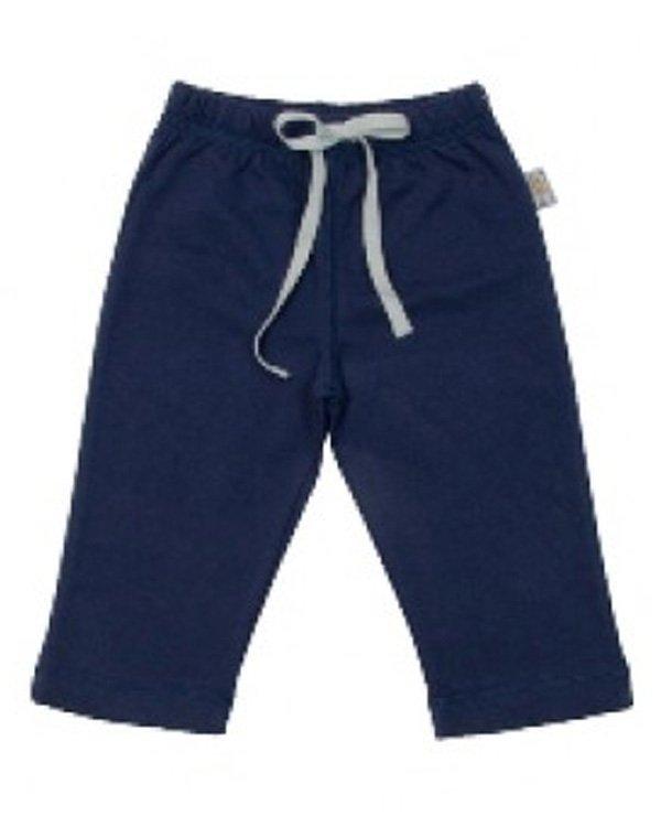 Filobio, pantalone in cotone biologico - 1/3 mesi, blu
