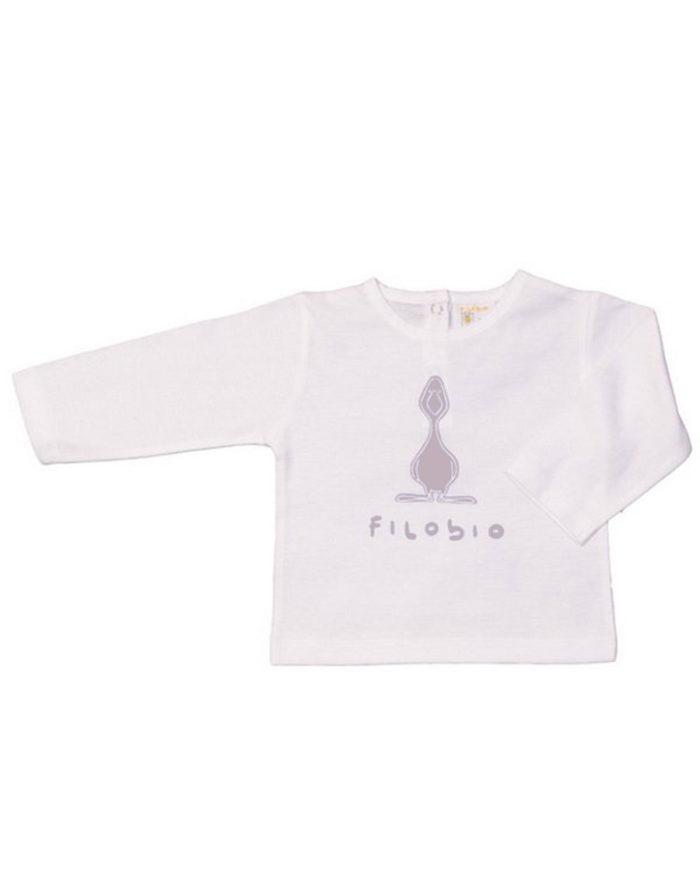 Filobio, t-shirt manica lunga
