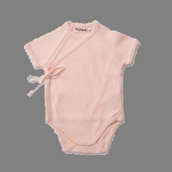 Filobio, body kimono manica corta - rosa, 0 mesi