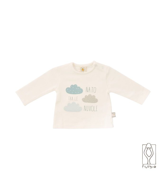 -nato-tra-le-nuvole-t-shirt-latte-in-cotone-biologico