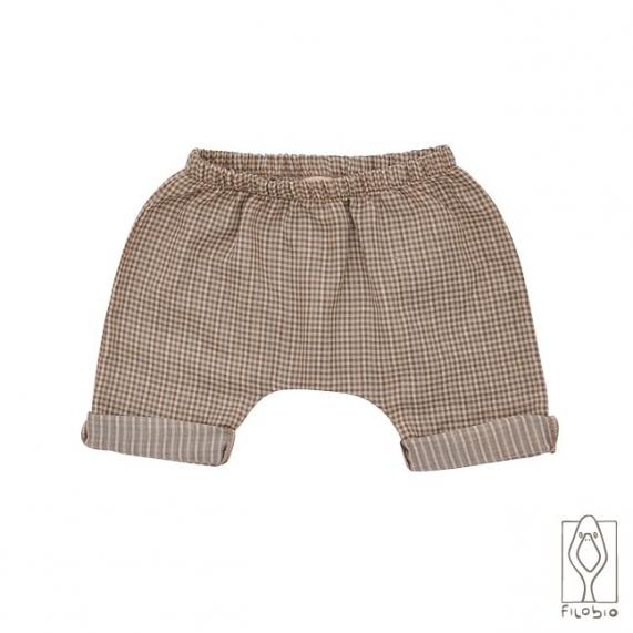 Filobio, short bebè Alex sand vichy