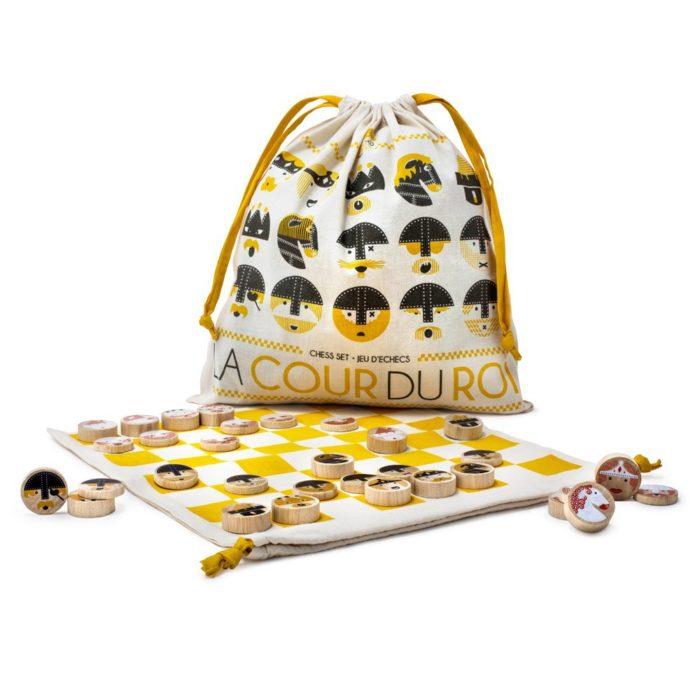 Les Jouets libres, scacchi La cour du roi