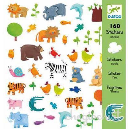 Djeco, Animali - Adesivi