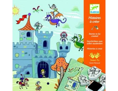 Djeco, Histoires à Créer chevaliers - timbri