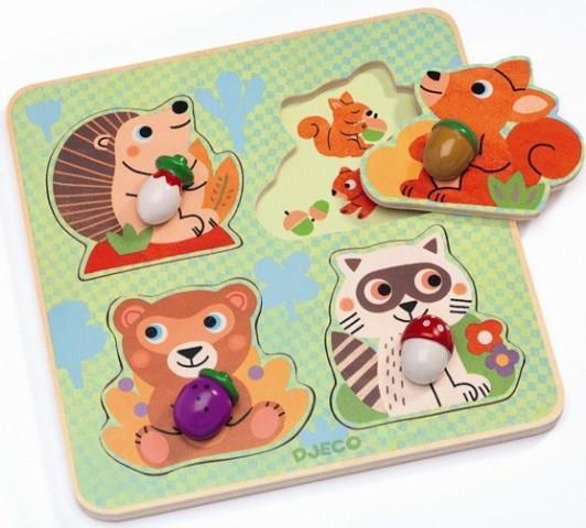 Djeco, puzzle - Croc-Nut