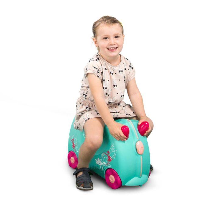 Trunki, valigia cavalcabile Fairy