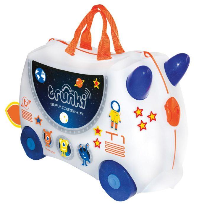 Trunki, valigia cavalcabile Spaceship