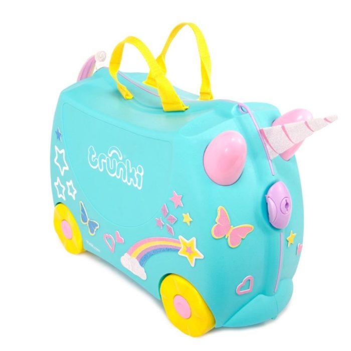 Trunki, valigia cavalcabile Unicorno